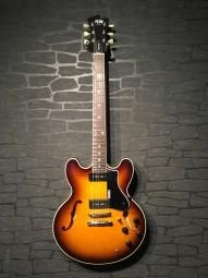 FGN Masterfield Hollowbody, sunburst, P90 w/c