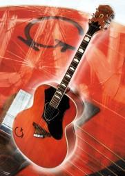 Vintage Art Guitar - Gretsch Rancher G-Brand (1957)