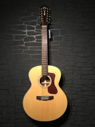 Guild F-1512 Jumbo 12-String, Natural, Softcase KOPIE