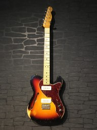 Fender Custom Shop MB P-90 Tele Thinline, Relic, 3tsb, ohc