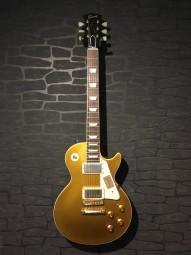 Gibson 1957 Les Paul Reissue VOS Goldtop, w/c
