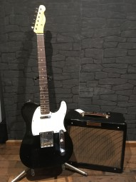 Fender CS 1959 Telecaster NAMM LTD Set black (inkl. Champ Jr. Amp)