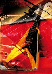 Vintage Art Guitar - Gibson Flying V (1958)