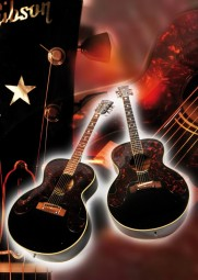 Vintage Art Guitar - Gibson Everly Brothers (1963 & 1968)