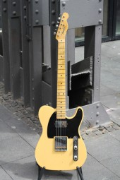 Fender CS No.1 Collection 52 HB Tele Relic, butterscotch blond