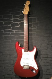 Fender CS 62 Strat, NOS Red Sparkle, ohc