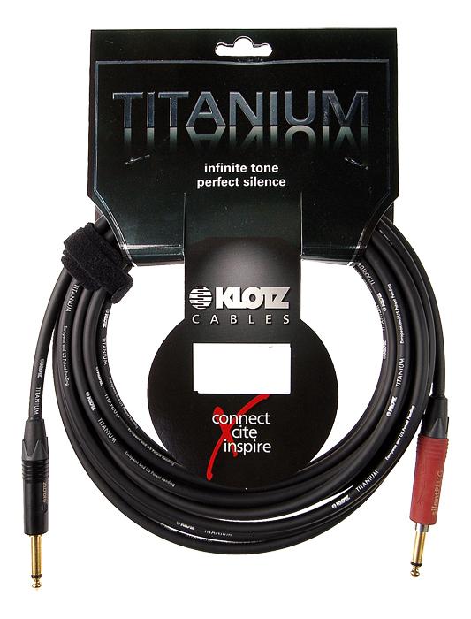 Klotz Titanium Gitarrenkabel 3m \
