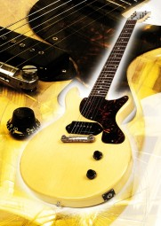 Vintage Art Guitar - Gibson Les Paul Junior TV-Yellow (1959)