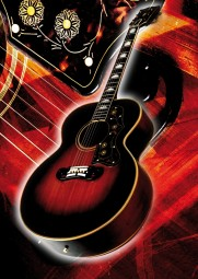 Vintage Art Guitar - Gibson SJ 200 (1951)