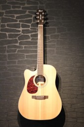 Cort MR710 F Lefthand, mass.Fichtendecke, Fishman