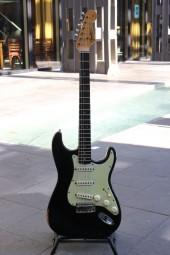 Fender Stratocaster Bj. 1964 black refin.