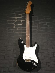 Fender No.1 LTD 2018 CS 63 Stratocaster, BLK, RW, w/c