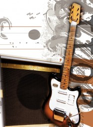 Vintage Art Guitar - Selmer Futurama & Truvoice Amp