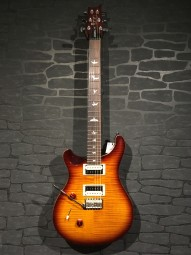 PRS SE Custom 24 Lefthand, Tobacco Sunburst, Bag