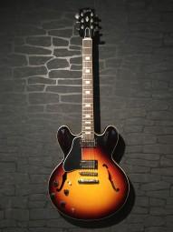 Gibson ES 335 LH Block, sunburst w/c
