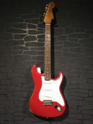 Fender No.1 LTD 2018 CS 63 Stratocaster, Dakota Red, RW, w/c KOPIE