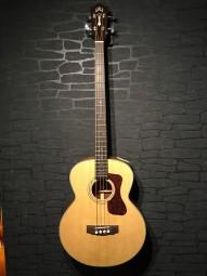 Guild B-140E Jumbo Acoustic Bass, Natural, Softcase