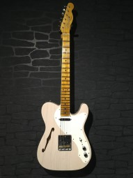 Fender CS NAMM 2017 LTD 50s Tele Thinline Journeyman Relic, w/c