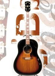 Vintage Art Guitar - Gibson J-160E (1969)