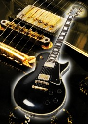 Vintage Art Guitar - Gibson Les Paul Custom (1959)