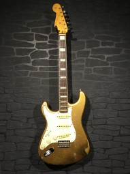 Fender Custom Shop MB '63s Strat Relic,LH Gold w/c