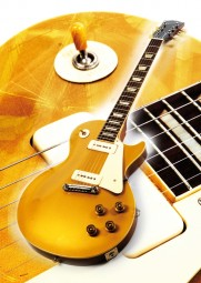 Vintage Art Guitar - Gibson Les Paul Gold Top (1953)