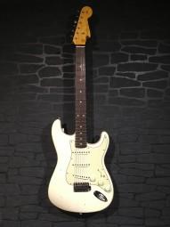 Fender Custom Shop 62 Stratocaster Aged Vintage White J.-Relic w/c