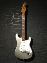 Fender No.1 LTD 2018 CS 63 Stratocaster, Inka Silver, RW, w/c