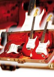 Vintage Art Guitar - 3 Fender Stratocaster