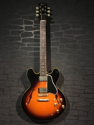 Gibson 1961 ES 335 Reissue Historic Burst VOS w/c