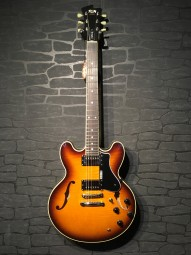 FGN Masterfield Hollowbody, sunburst, Humbucker w/c