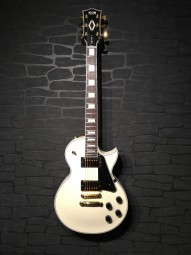 FGN Neo Classic LC10 White LP Custom, Bag
