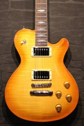 FGN Expert Flame - Flame Top, Flamed Orange Burst