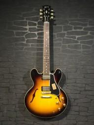 Gibson No.1 Ltd. M2M 1959 ES-335 Dot Vintage Sunburst, Lightly Aged w/c