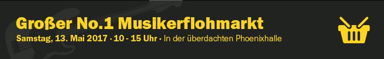 No.1 Musikerflohmarkt Mai 2017